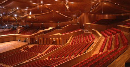 suite shelley at santa cecilia hall - auditorium parco della musica